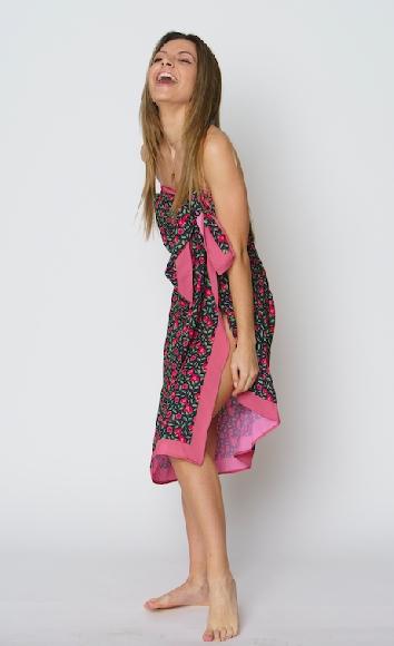 Bougainvillea sarong